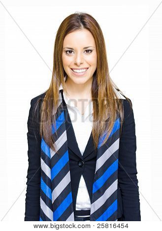 Friendly Happy And Smiling Business Professional