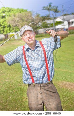 Golf Temper Tantrum