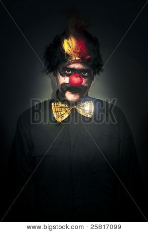 Dark Foreboding Clown