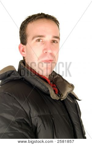 Male Wearing Jacket