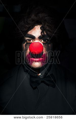 Dark Scary Clown