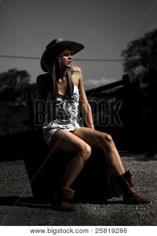 Female Outback Traveler