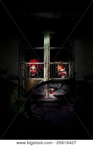 Haunted Clown House
