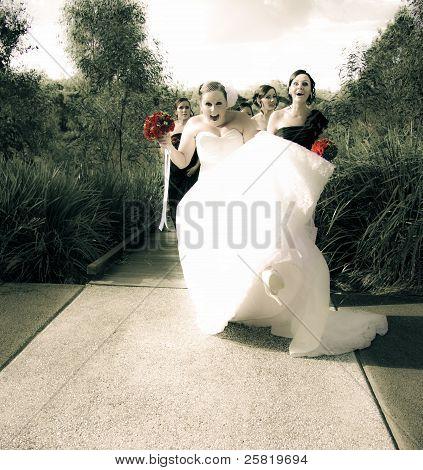 Crazy Wedding Moment