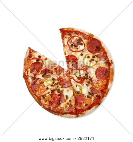 Sliced Pizza