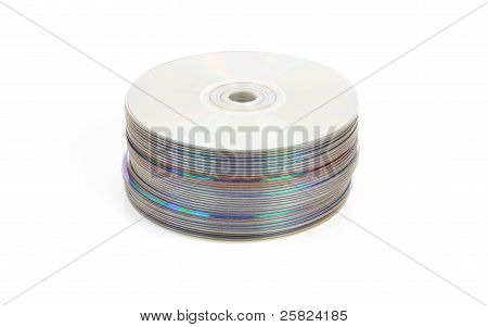 Cd Or Dvd Stack