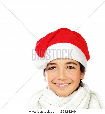 Happy Santa Boy