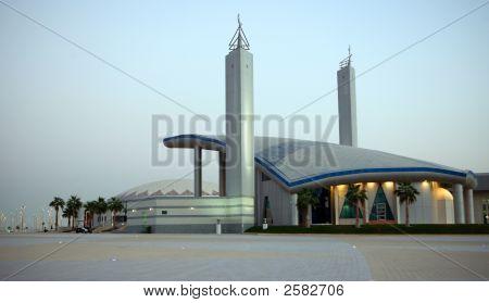 Sports Mosque Dusk