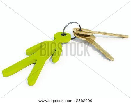 Schlüssel mit trinket