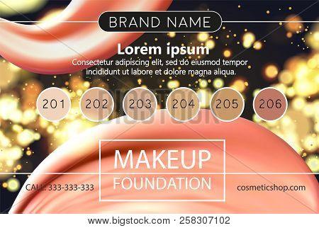 Makeup Design Template For Cosmetic Flyer Makeup Artist Studio Or