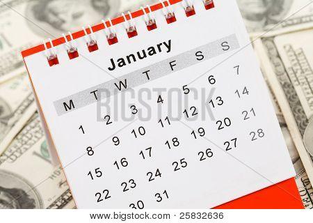 Calendario y dólar