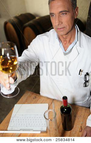 Wein testen