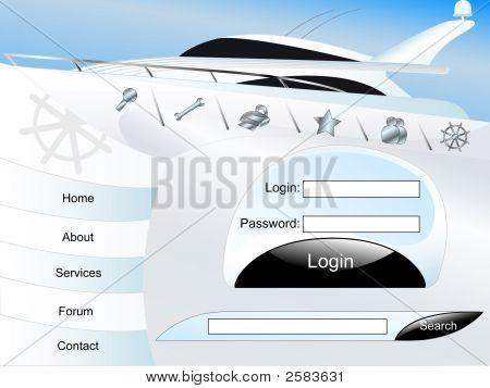 Yacht Page Set