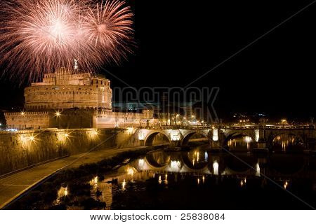 New Year In Rome
