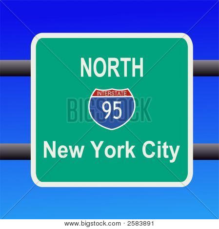 Interstate 95 Sign