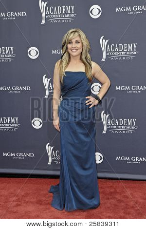 LAS VEGAS - APRIL 3 - Sunny Sweeney attends the 46th Annual Academy of Country Music Awards in Las Vegas, Nevada on April 3, 2011.