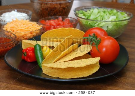 Tacos And Ingredients