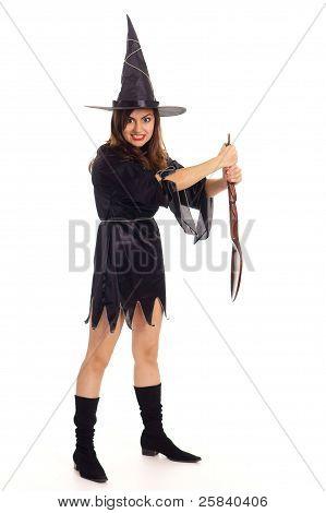 Bruxa com colher