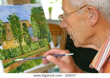 Pintura de homem