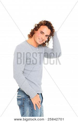 Young Man With Nice Smile