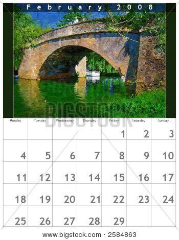 Calendar February 2008