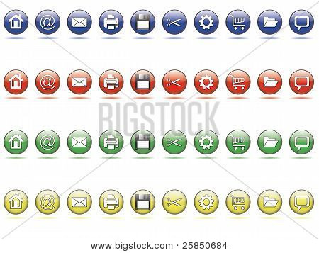 Web Button Set