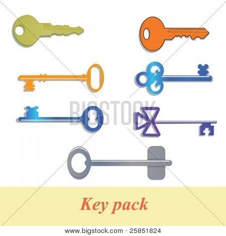 key pack