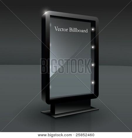 Plakat für Ihren Text vektor