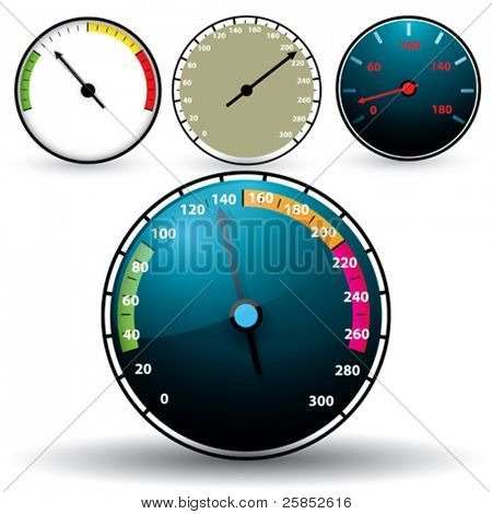 Vector Speedometer SET