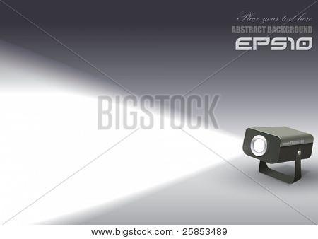 Vector Spotlight Projector