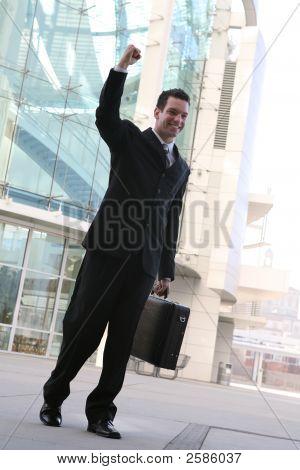 Business Man Success