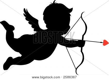 Silueta de Cupido