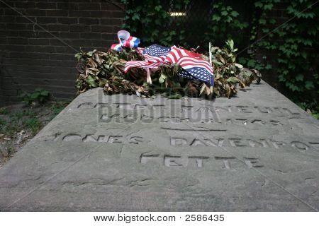 Patriotic Grave Stone