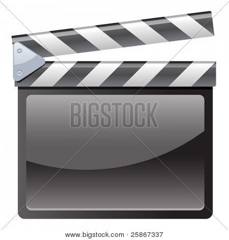 vector illustration of Film Clapboard