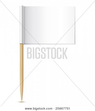 empty flag toothpick