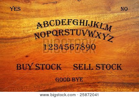 Ouija Board con pregunta Stock