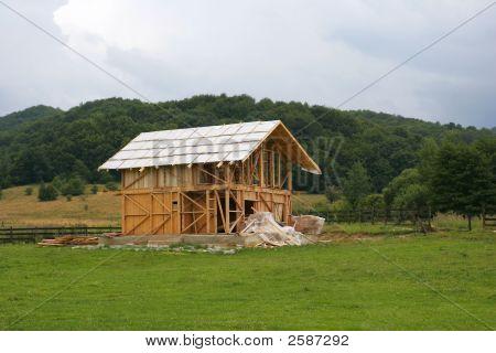 Wood Hose Under Construction
