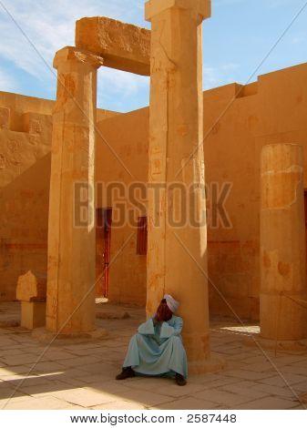 Resting Egyptian