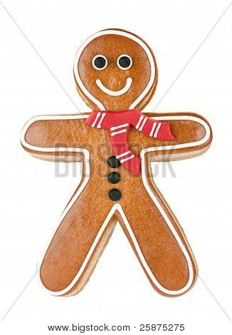 Friendly Gingerbread Man