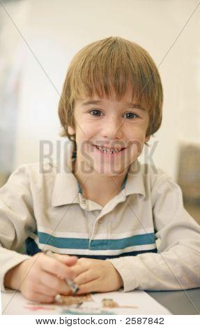 Little Boy Coloring