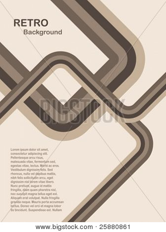 Una ilustración de fondo retro vector abstracto en tonos de piedra con una capacidad de copia