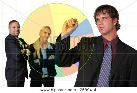 Businessman During Presentation