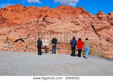 People At The Viewpoint