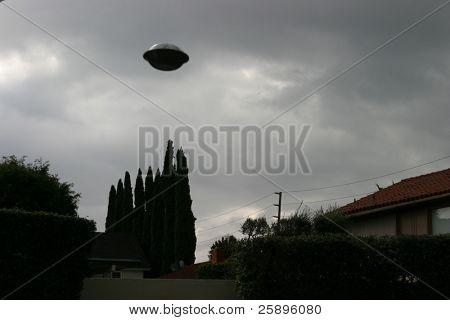 ufo over my neighborhood