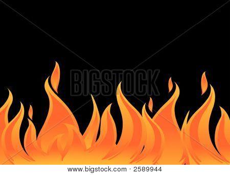 Vector fuego