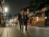 Businessmen In Gion