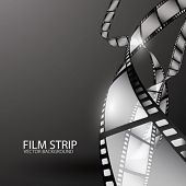 stock photo of stripping  - Abstract Film Strip - JPG