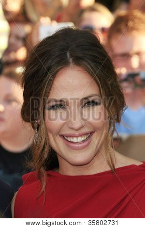 LOS ANGELES - AUG 6: Jennifer Garner at the premiere of Walt Disney Pictures' 'The Odd Life of Timothy Green' at the El Capitan Theater on August 6, 2012 in Los Angeles, California