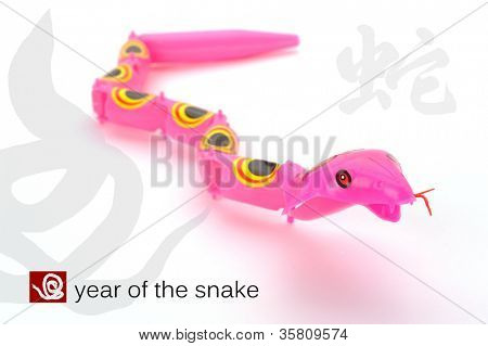 Happy new year 2013,year of the snake