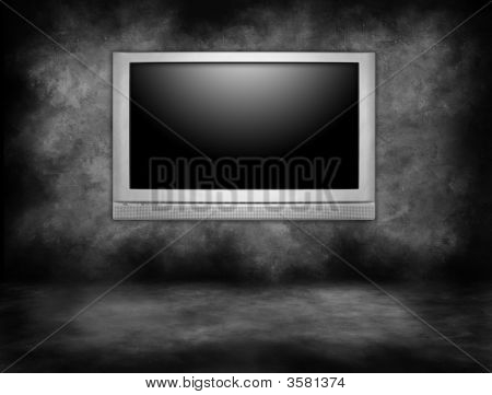 High Definition Plasma Television Hanging